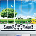 Botanički / Mrtva priroda / Cvjetnih / Pejzaž Zid Naljepnice Zidne naljepnice , Aluminum Foil 45x75x0.1cm