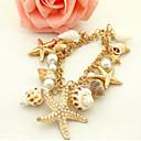Narukvice Gipke i čvrste narukvice Legura CoWRY Others Jedinstven dizajn Moda Dnevno Kauzalni Jewelry Poklon Zlatna,1pc
