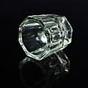 1 ks osmihranné křišťálové sklenice na akryly kapalina / umýt nehty voda Přívěsky nehtů nástroje móda cup ozdoby