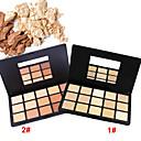 15 Colors Powder Suha Powder Acoperire / Korektor / Prirodno / Smanjenje pora Lice Višebojne