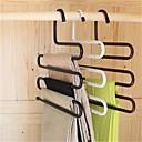 multifunkční kouzelné skříň železné kalhoty háček podpora multi-layer brzd (náhodné barvy)
