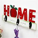 drveni ukrasni hhook oprema doma dekorativna vrata zidna kuka za odjeću kuka