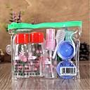 7pcs sjenčanje šminka plastična putovanja boca postavljena