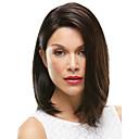 Europljanke dama srednjih duljina smeđe boje sintetičke kose