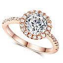 Prstenje Moda Vjenčanje / Party Jewelry Legura Žene Prstenje sa stavom 1pc,Univerzalna veličina Srebrna / Rose Gold