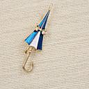 Moda slatka emajl kišobran broš (paket s poklon vrećici)