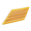 neitsi® sada 12 profesionální prodlužování vlasů keratin pistole vazba lepicích tyčinek (žlutá)