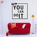 Slova a citáty / Romantika / Módní Samolepky na zeď Samolepky na stěnu,PVC M:42*42cm/ L:55*55cm
