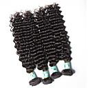 Lidské vlasy Vazby Malajské vlasy Velké vlny 18 měsíců 4 kusy Vazby na vlasy