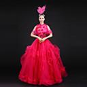 Cosplay Nošnje Princeza / Movie & TV Theme Costumes Festival/Praznik Halloween kostime Srebrna Jednobojni HaljinaHalloween / Božić /