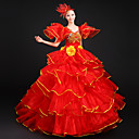 Cosplay Nošnje Princeza / Movie & TV Theme Costumes Festival/Praznik Halloween kostime Svjetlo ljubičasta Jednobojni HaljinaHalloween /