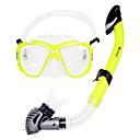 Snorkeling Paketi Dva-Prozor Odrasla osoba Silikon Plava / Crna