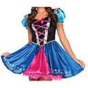 Cosplay Nošnje / Kostim za party Oktoberfest Festival/Praznik Halloween kostime Plav Print Haljina Halloween / Karneval / New Year Ženka