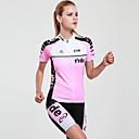 MYSENLAN® Biciklistička majica s kratkim hlačama Žene Kratki rukav BiciklProzračnost / Quick dry / Ultraviolet Resistant / Moisture