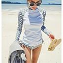 ženy potápěčský oblek uv plavky bikiny spojený protisluneční plavky medúzy s dlouhým rukávem neopren obleky = top + kalhoty