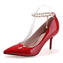 Žene Cipele na petu Jesen Udobne cipele PU Ležerne prilike Stiletto potpetica Drugo Crna / Ljubičasta / Crvena / Siva Others