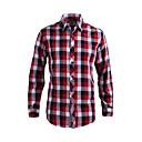 JamesEarl Muškarci Kragna košulje Dugi rukav Shirt & Bluza Srebrna - DA202028801