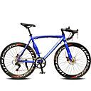Cestovni bicikli Biciklizam 14 Brzina 60mm Uniseks SHIMANO TX-30 Dvostruka disk kočnica Običan Monocoque Običan Aluminijska Alloy / Čelik