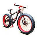 マウンテンバイク サイクリング 7スピード 26 inch/700CC 40ミリメートル ユニセックス / 男性 / ユニセックスキッズ SHIMANO ダブルディスクブレーキ スプリンガーフォーク モノコック 普通 アルミニウム合金 / スチールレッド / 黄色 /