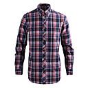 JamesEarl Muškarci Kragna košulje Dugi rukav Shirt & Bluza Srebrna - MB1XC000401
