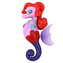 Elektron indukcija plivati morski konjic princeza igračka crvena ljubičasta višebojna