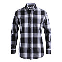 JamesEarl Muškarci Kragna košulje Dugi rukav Shirt & Bluza Crna Fade - DA112007926