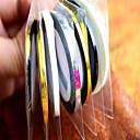 1ks 3mm 20m hřebík umění proužek páska linie samolepka nail art krása dekorace nástroje náhodný dodací nc124