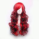 nejprodávanější Evropy a Spojených států paruku a červené směsné částečné kudrnaté vlasy paruky