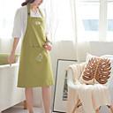 100% bavlna zástěry kuchyň vaření zelenou barvu