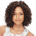 女性のための100%ブラジルのバージン人毛U部分のかつらをかつらカーリー赤ん坊の毛のレースの前部と変態10-30inch入荷