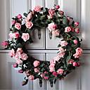1pc 1 Podružnica Plastika Biljke Zidno cvijeće Umjetna Cvijeće 45*45*5cm