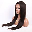 赤ちゃんの髪の24-30インチ未処理のブラジルのバージンの人間の髪の毛のフルレースかつらシルクストレート自然な色のレースのかつら