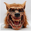 Halloween latex maska jezivo Vuk Životinjska glava maska posvetiti cosplay kostim za odrasle strana maske pasti