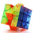 Magic Cube / Puzzle Toy IQ Cube Yongjun Three-layer Professional Level Smooth Speed Cube Magic Cube puzzle Transparent
