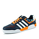Men's Sneakers Spring / Fall Comfort / Flats PU / Tulle Outdoor / Athletic / Blue / Black and Red Walking
