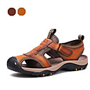 Sandály-Hnědá / Khaki-Pánské boty-Outdoor / Běžné / Atletika-Kůže