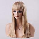 Krásná antény bez patice paruky vysoce kvalitní dlouhé rovné lidský vlas 24 palců