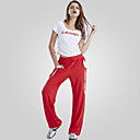 Žene-Gymnatics- zaSeksi blagdanski kostimi(Crn / Crvena / Bijela,Polyester,Luk (s) / Drapirano sa strane)