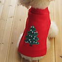 kočičky / pejsky svetry Červená / Žlutá / Modrá / Černá Oblečení pro psy Zima / Jaro/podzim Sněhová vločka Zahřívací / Silvestr / Vánoce