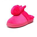Dames Slippers & Flip-Flops Herfst / Winter Platte schoenen Maatwerkmaterialen Informeel Platte hak OverigeZwart / Roze / Paars / Rood /