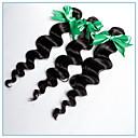 3個 ルーズウェーブ 人間の髪織り ペルービアンヘア 95-100g 12''-24'' 人間の髪の拡張機能