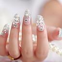 mladenka manikura narezati komad lažnih noktiju lijepi guma patch