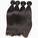 4 Pièces Droit (Straight) Tissages de cheveux humains Cheveux Brésiliens 350g 10''-30'' Extensions de cheveux humains