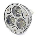 3W GU5.3(MR16) LEDスポットライト MR16 ハイパワーLED 280 lm 温白色 / クールホワイト V 1個