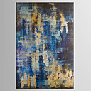Ručně malované Abstraktní / Fantazie olejomalby,Klasický / Moderní Jeden panel Plátno Hang-malované olejomalba For Home dekorace