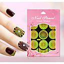 Nový nail art duté samolepky barevné květiny hvězda geometrické obrázek designu nail art krása y021-030