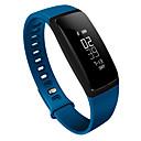 HFQ Bluetooth スマートブレスレット 耐水 / 長時間スタンバイ / 歩数計 / ヘルスケア / スポーツ / 心拍計 / 目覚まし時計 / タッチスクリーン / 情報 / LED / 睡眠モニター / 血圧測定 / 多機能 / 耐久性 ブルートゥース 4.0