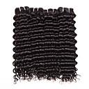 Lidské vlasy Vazby Brazilské vlasy Kudrny 6 měsíců 4 kusy Vazby na vlasy