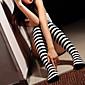 čarape Classic/Tradicionalna Lolita Lolita Obala / Crn Lolita Pribor Stockings Prugasti uzorak Za Žene Spandex / Najlon