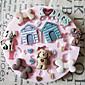 Cute Dog Toy Silikonová forma Fondant Formy Sugar Řemeslníci Nástroje Chocolate Forma na koláče